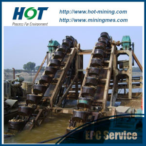 Hot Sale 30-150m3/H Bucket Chain Sand Dredger pictures & photos
