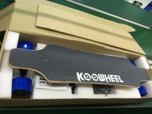Canadian Maple Professional Boosted Longboard Koowheel Skateboard D3m pictures & photos