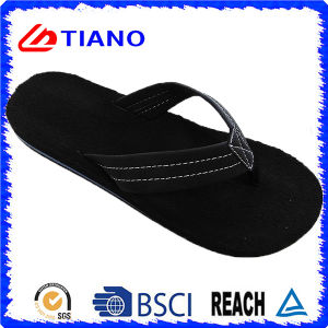 New Black EVA Casual Beach Flip-Flop for Men (TNK35275) pictures & photos