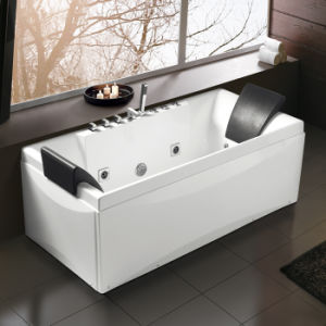 (K1215) Freestanding Acrylic Bathtubs / Massage Whirlpool Bathtubs pictures & photos