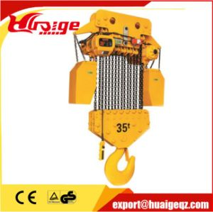Widely Used High Quality Electric Workshop Chain Hoist 10t pictures & photos