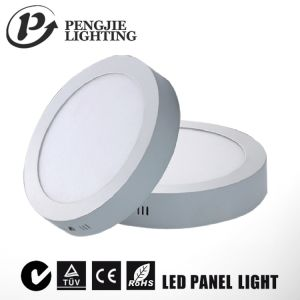 Energy Saving 12W LED Surface Panel Light for Office (Round) pictures & photos