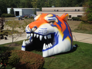 Football Sports Inflatable Jaguar Helmet Tunnel for Soprt Events pictures & photos