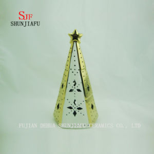 The Christmas Tree Home Furnishing Decorative Ceramic Candlestick Ornaments Gifts Decor pictures & photos
