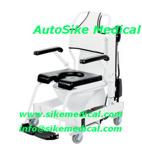 Mobile Shower-Toilet Lift Chair