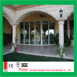 New Design Heavy Duty Aluminum Large Glass Sliding Door pictures & photos