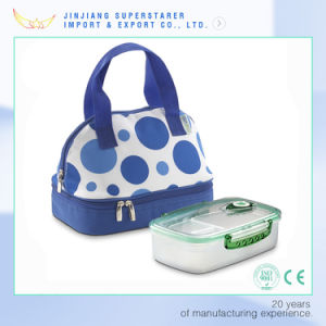 Blue DOT Eco-Friendly Insulated Picnic Lunch Bag pictures & photos