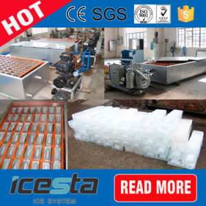 1.5t Quick Freezing Aluminium Plate Mold Block Ice Machine pictures & photos