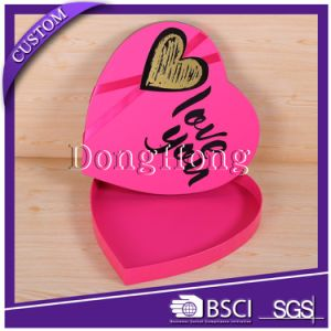 Heart Shaped Paper Candy Packaging Wedding Favor Box pictures & photos