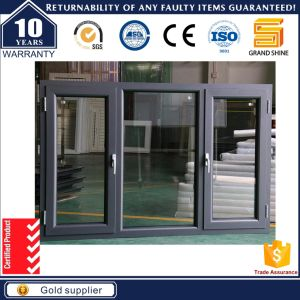 Best Solid Wood-Aluminum Cladding Casement Glass Window (CW50) pictures & photos