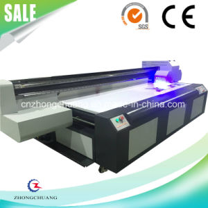 Ricoh-Gen5 Heads 8′x4′ Acrylic / Glass Material UV LED Flatbed Printer pictures & photos