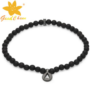 SMB-16120208 Black Color Designer Semi Precious Stone Jewelry pictures & photos
