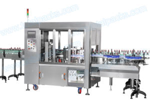 Automatic Hot Melt Glue Labeler for Bottled Water (LB-600A) pictures & photos