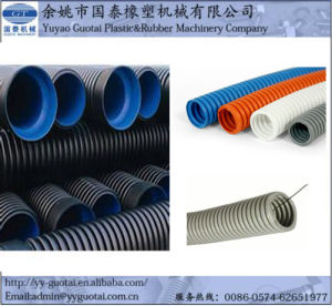 PP/PE/PVC/TPR Plastic Flexible Corrugated Pipe Making Machine pictures & photos