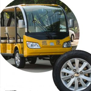 Electric 8 Seater Tourist Sightseeing Car for Sale pictures & photos