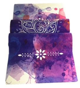 Folable Travel 1mm Yoga Mat Yoga Towel Wholesale pictures & photos