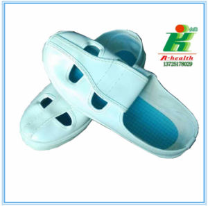 Antistatic Butterfly 4-Eyes Work Shoe of Linkworld Brand pictures & photos