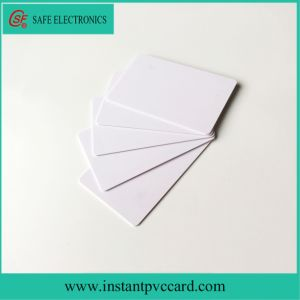 Cr80 Size Blank Inkjet Printable PVC Card pictures & photos