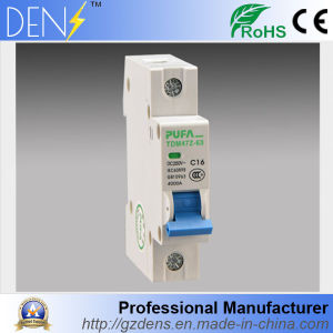 1p DC Circuit Breaker Non Polarized DC Breaker From 10A to 63A pictures & photos
