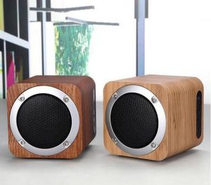 wireless office speakers. wood wireless office professional bluetooth speakers with audio tf card t