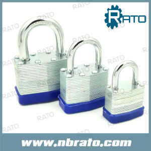 Laminated Padlock with Brass Cylinder and Brass Key
