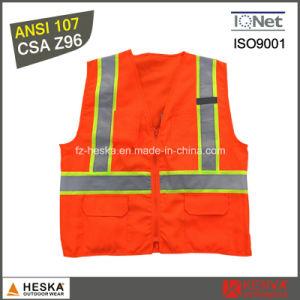 Hi Vis Safety Reflective Tape ANSI107 Workwear Reflective Vest pictures & photos