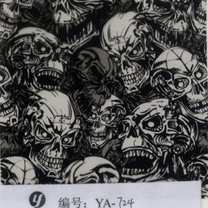 Tsautop 0.5/1m Width Skull Hydrographics Water Transfer Printing Film pictures & photos