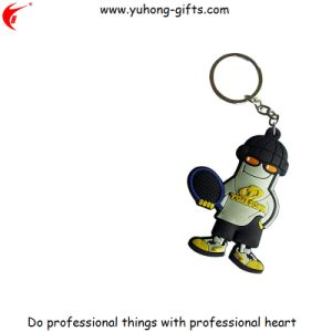 Advertizing and Promotional Fashion Cute Rubber Keychain (YH-KC175) pictures & photos
