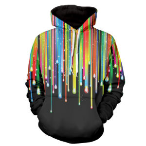OEM Print Hoodies New Men′s Winter Hoodie Warm Hooded Sweatshirt