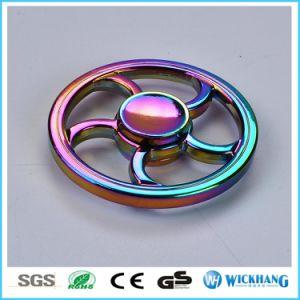 Wheel Rainbow Fidget Hand Spinner Zinc Alloy Torqbar Finger Toy Focus Gyro pictures & photos