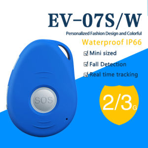 EV-07 Mini Keychain GPS Locator for Personal Waterproof GPS Tracking Device pictures & photos