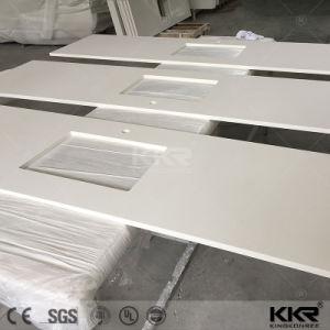 Custom Size Quartz Kitchen Countertop pictures & photos