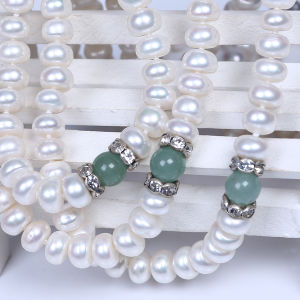 Freshwater Pearl Short Pearl Necklace pictures & photos