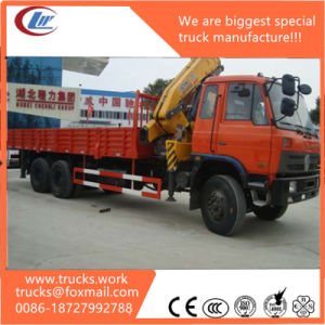 20t Truck Mounted Knuckle Folding Boom Crane pictures & photos