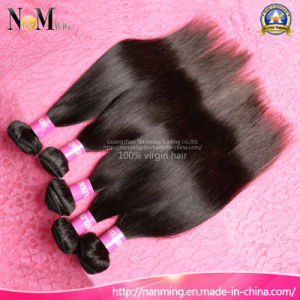 New Comming Malaysian Virgin Hair Straight Real Hair Extension (QB-MVRH-ST) pictures & photos
