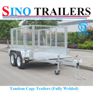 10X6 Tandem Axle Farm Trailer with Cage