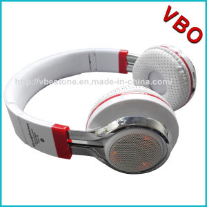Foldable Wireless Stereo Headband Bluetooth Headphone Headset Over Ear with LED Lighting pictures & photos