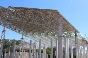 Steel Structural Grid Structure for Commercial Steel Roofing pictures & photos