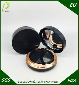 Empty Round Cosmetic Packaging Compact Powder Case pictures & photos