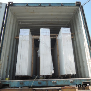 China Artificial Stone Factory Pure White Quartz Stone pictures & photos