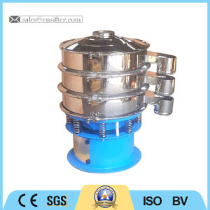 Factory Price Sugar Circular Vibratory Sieve Machine pictures & photos