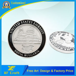 Customized Promotion Metal Challenge Souvenir Commemorative Brass Coin No Minimum (XF-CO08) pictures & photos