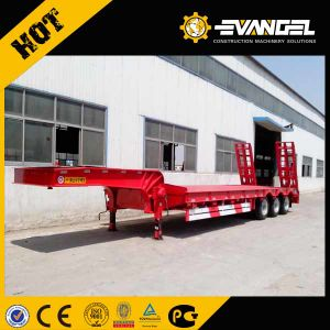 60 Ton 3 Axle Low Bed Semi Trailer pictures & photos