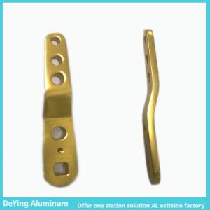 Competitive Aluminum/Alminium Profile Hardware Anodizing in Yellow pictures & photos