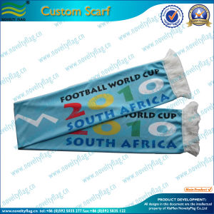 China Factory Wholesale Custom Cheap Football Fan Scarf (M-NF19F10010) pictures & photos