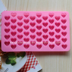 2015 Wholesales Heart Shape Silicone Fondant Mold