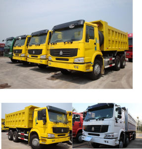 6X4 35tons Right Hand Drive HOWO Dump Truck pictures & photos