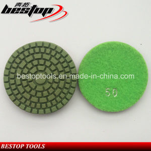 D80mm Cheap Resin Bond Grinding Pad for Granite Stone pictures & photos