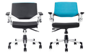 Adjustable Swivel Office PP Chair with Armrest pictures & photos