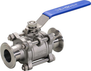 Ball Valve with Clamp Ends pictures & photos